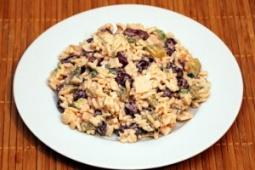 Sałatka ryżowa z wędliną